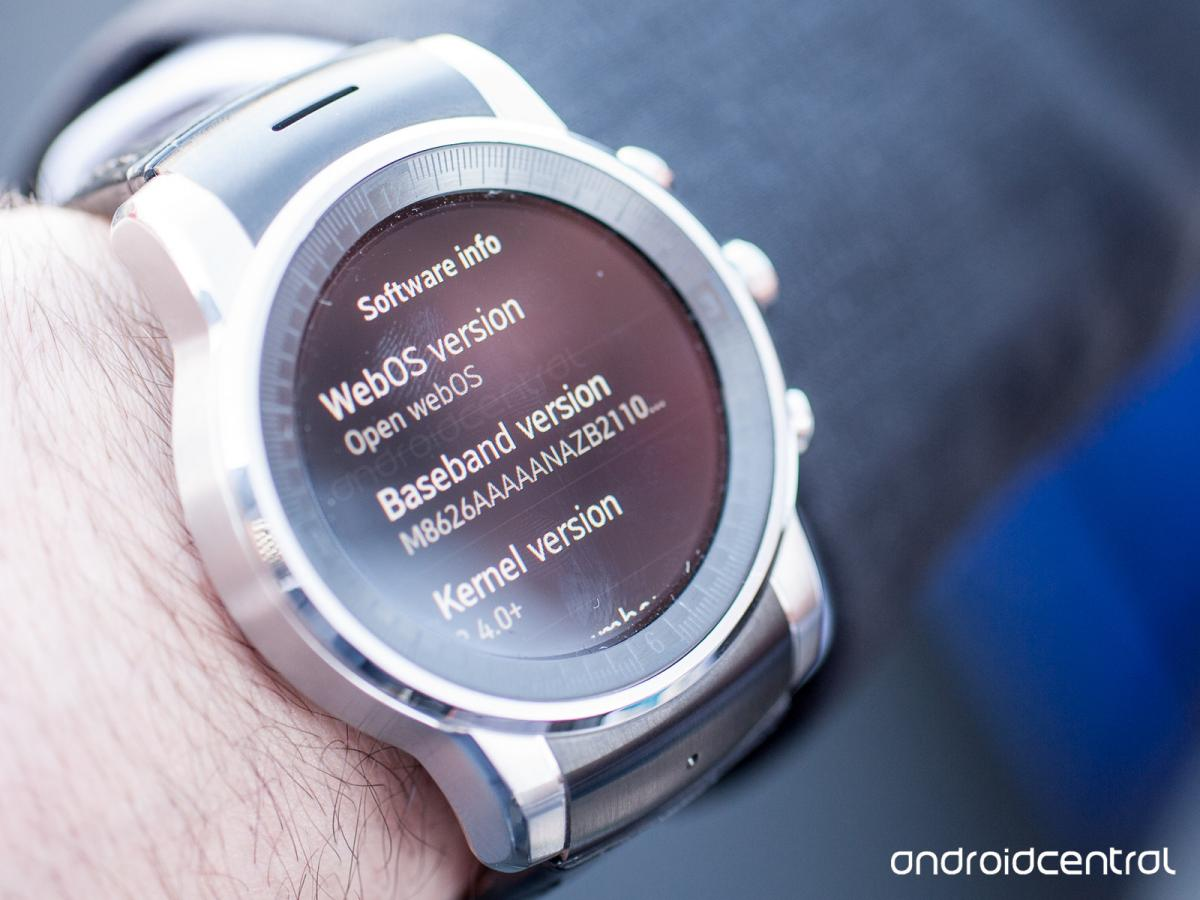 LG's new mystery smartwatch actually runs webOS